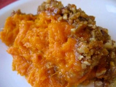 Sweet Potatoes with Brown Sugar and Pecans