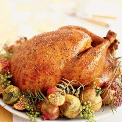 roast turkey, baked turkey