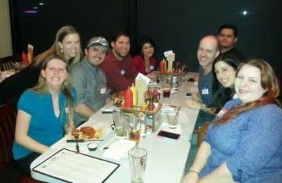 food lovers at meetup